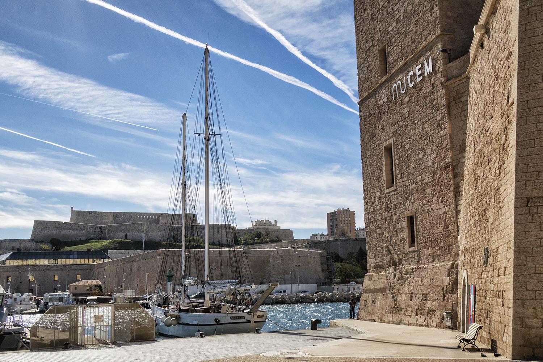 Mucem, Marseille, October Morning