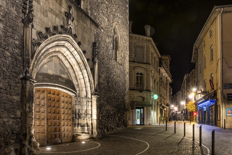 Tournon, France, October Evening