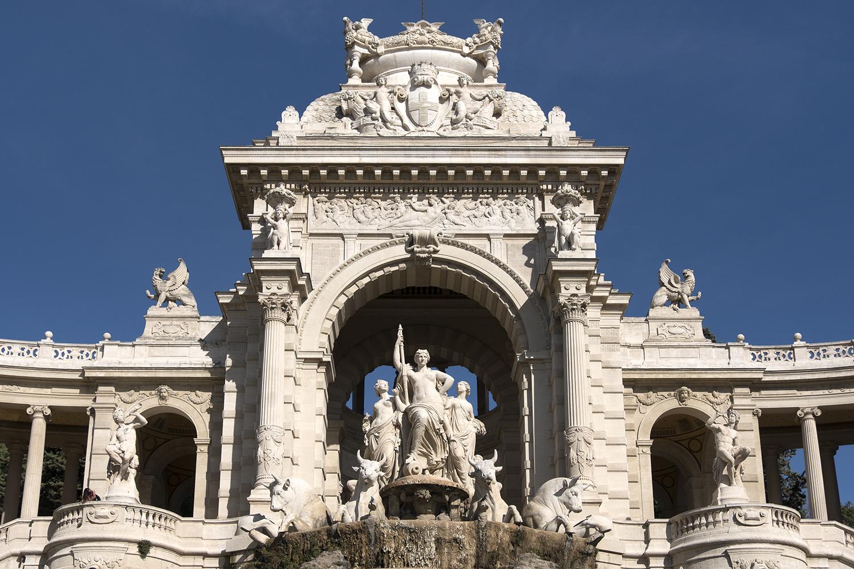 Parc Longchamp, Marseille, France