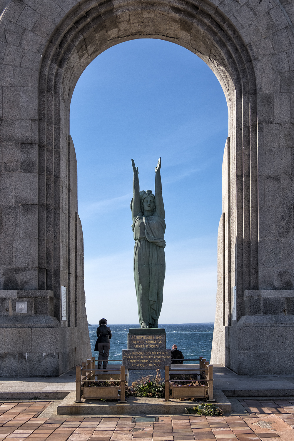 African Army Monument, Marseille, France