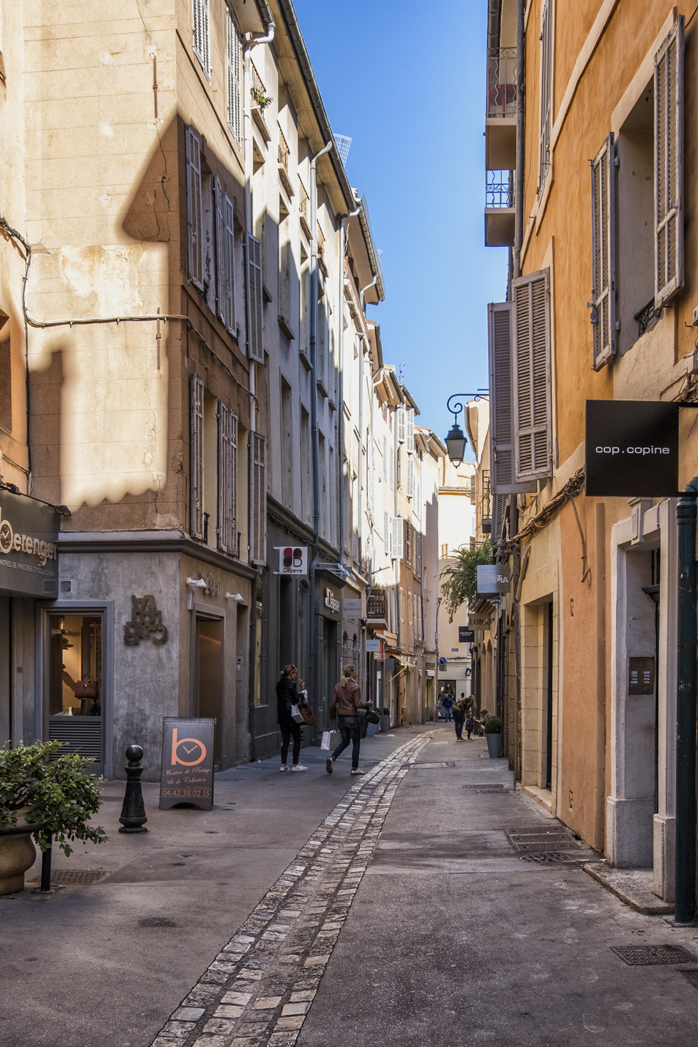 Aix-en-Provence, October Afternoon