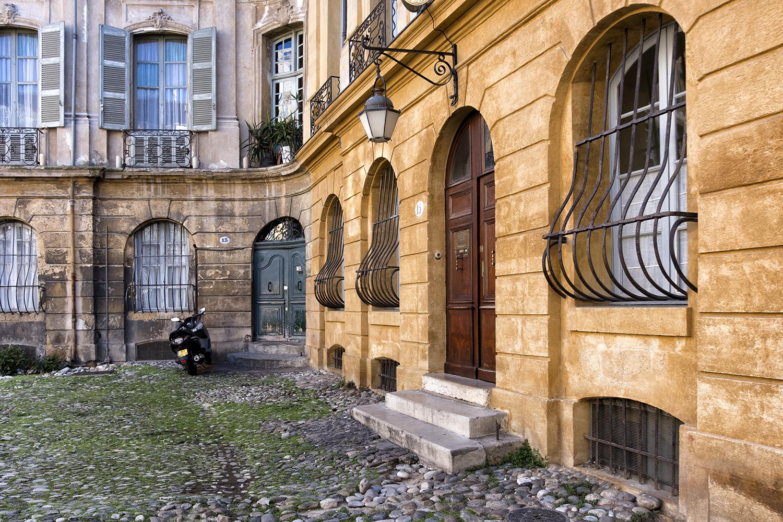 Aix-en-Provence, October Morning