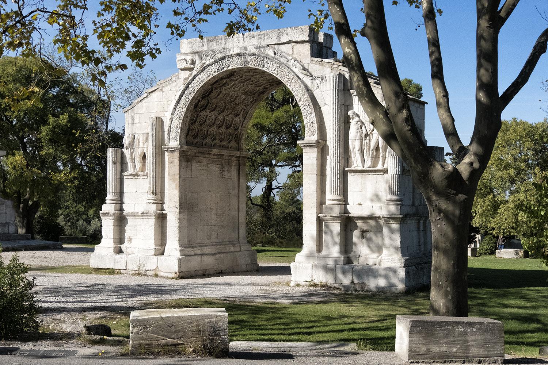 Ruins of Glanum, France, October Morning