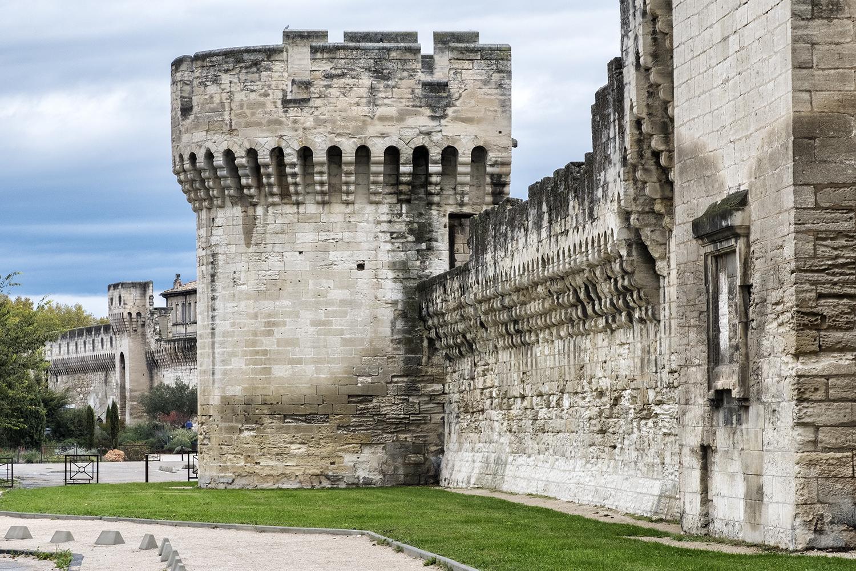 Avignon, France, October Morning