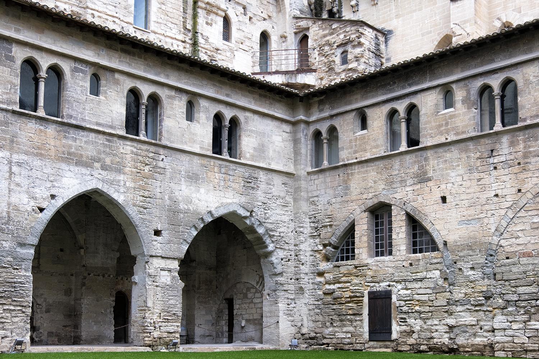 Papal Palace, Avignon, October Morning