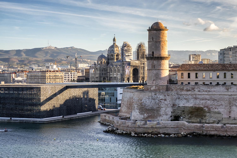 Fort St. Jean, Marseille, October Morning