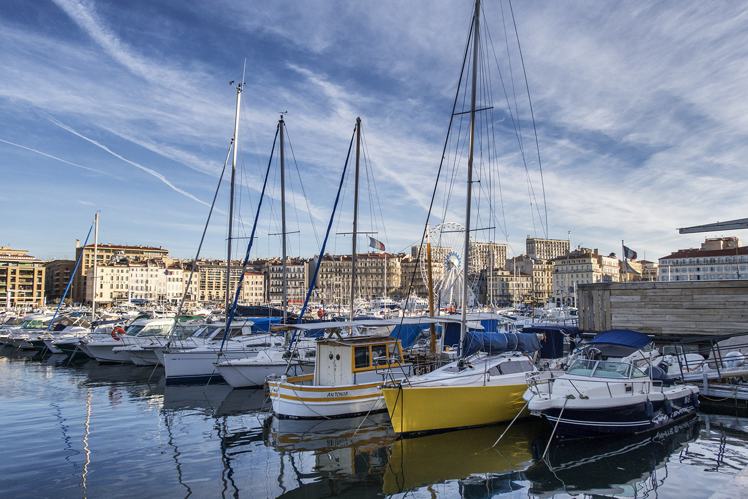 Old Harbor, Marseille, October Morning