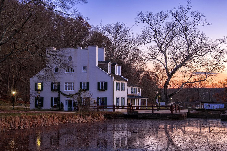 Great Falls Tavern, November Evening