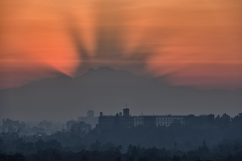 December Sunrise, Mexico City