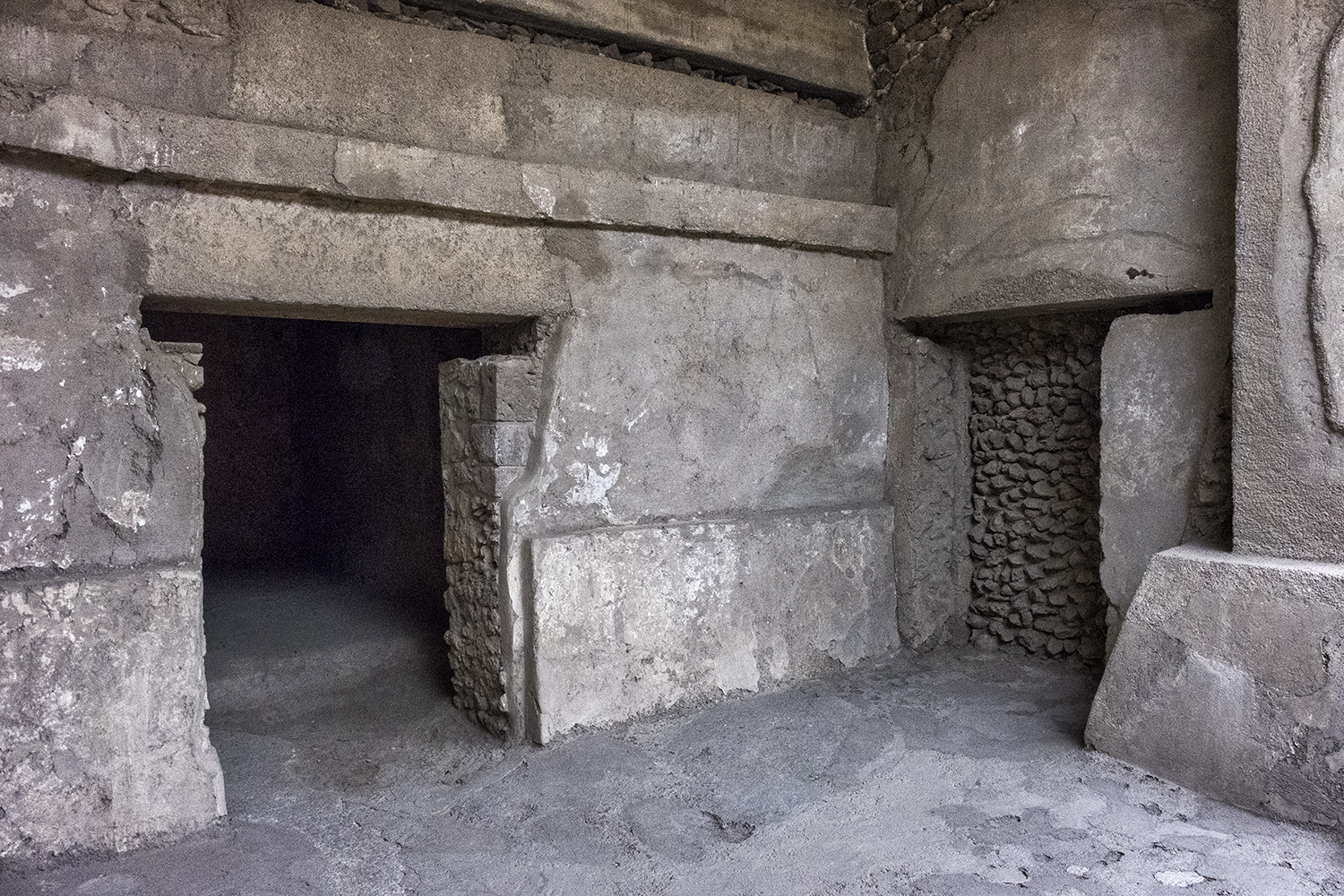 Inside the Pyramid, Teotihuacan, Mexico