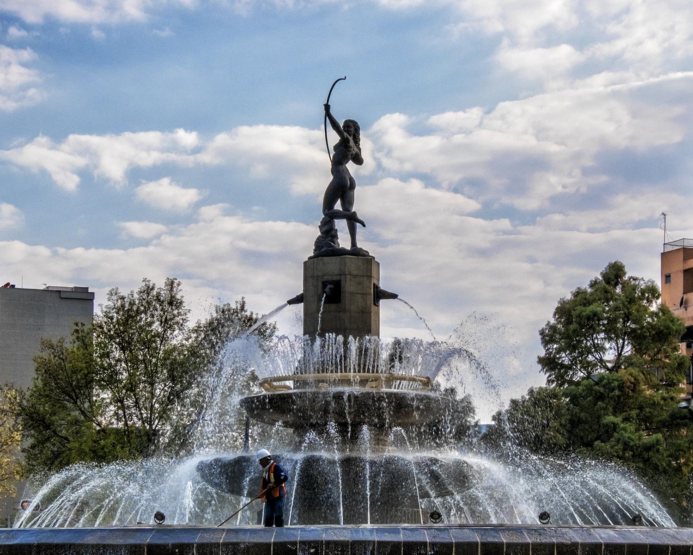 Fuente de La Diana Cazadora, Mexico City
