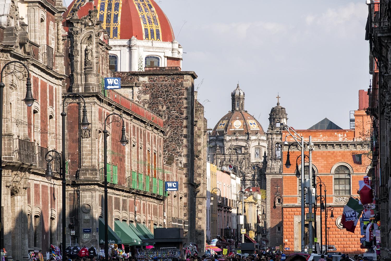 In the Centro Historico, Mexico City