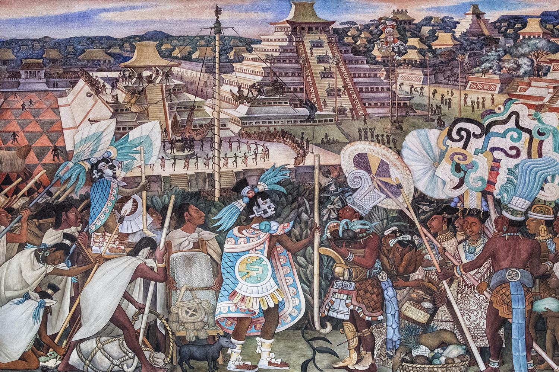 Diego Rivera Fresco, Palacio Nacional, Mexico City