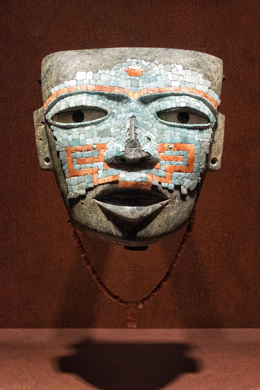 At the Museo Nacional de Anthropologia, Mexico City