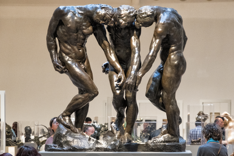 The Three Shades, Museo Soumaya, Mexico City