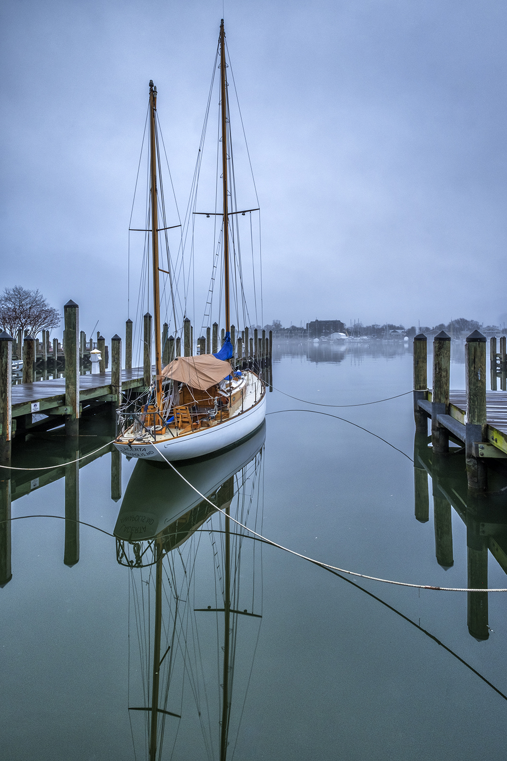 Annapolis, January Morning
