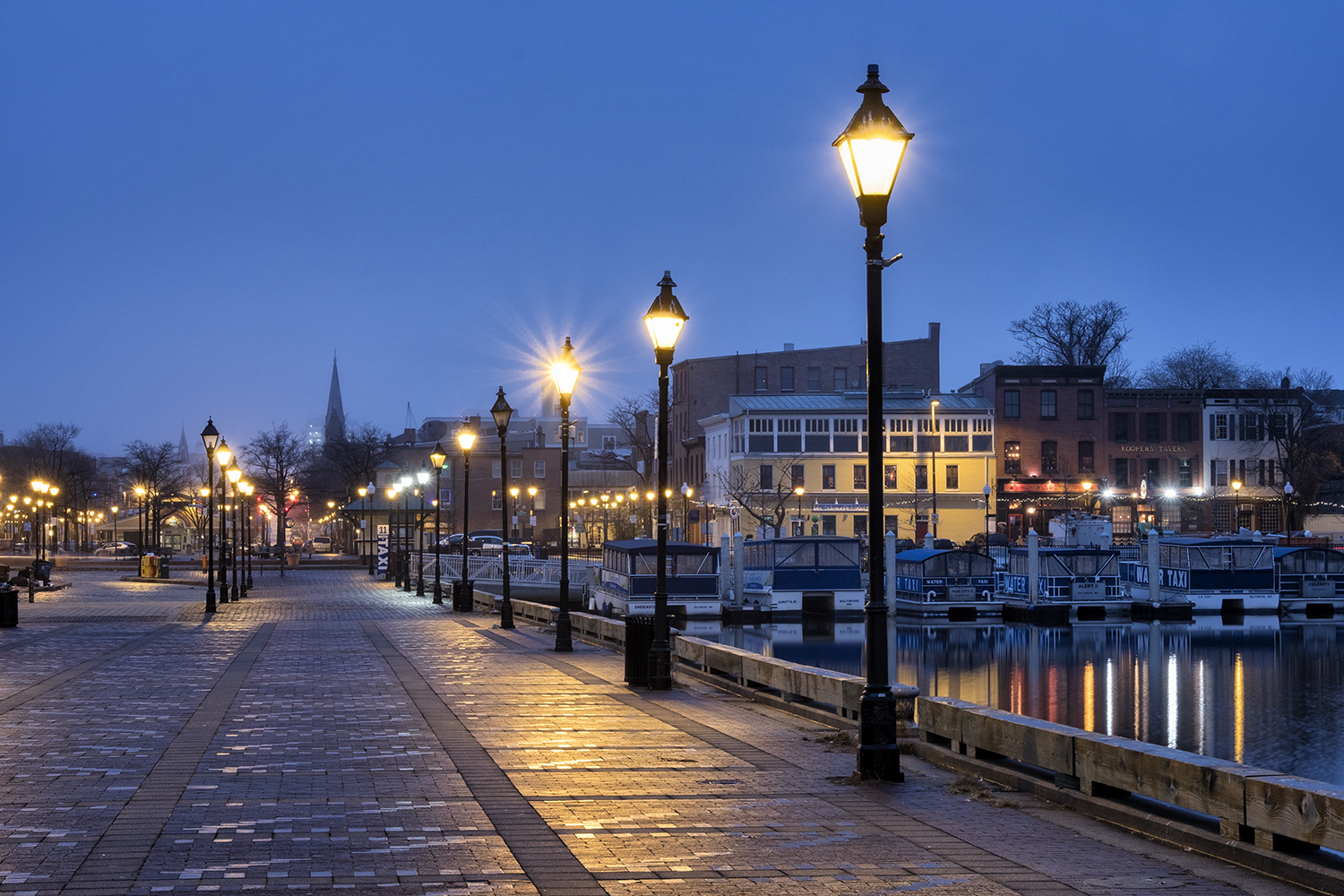 Fells Point, January Morning