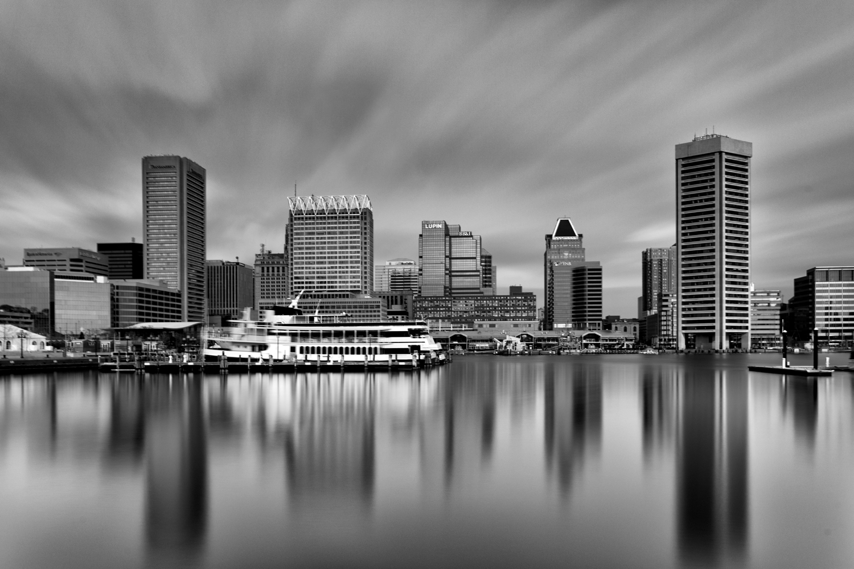 Baltimore Harbor, December Morning