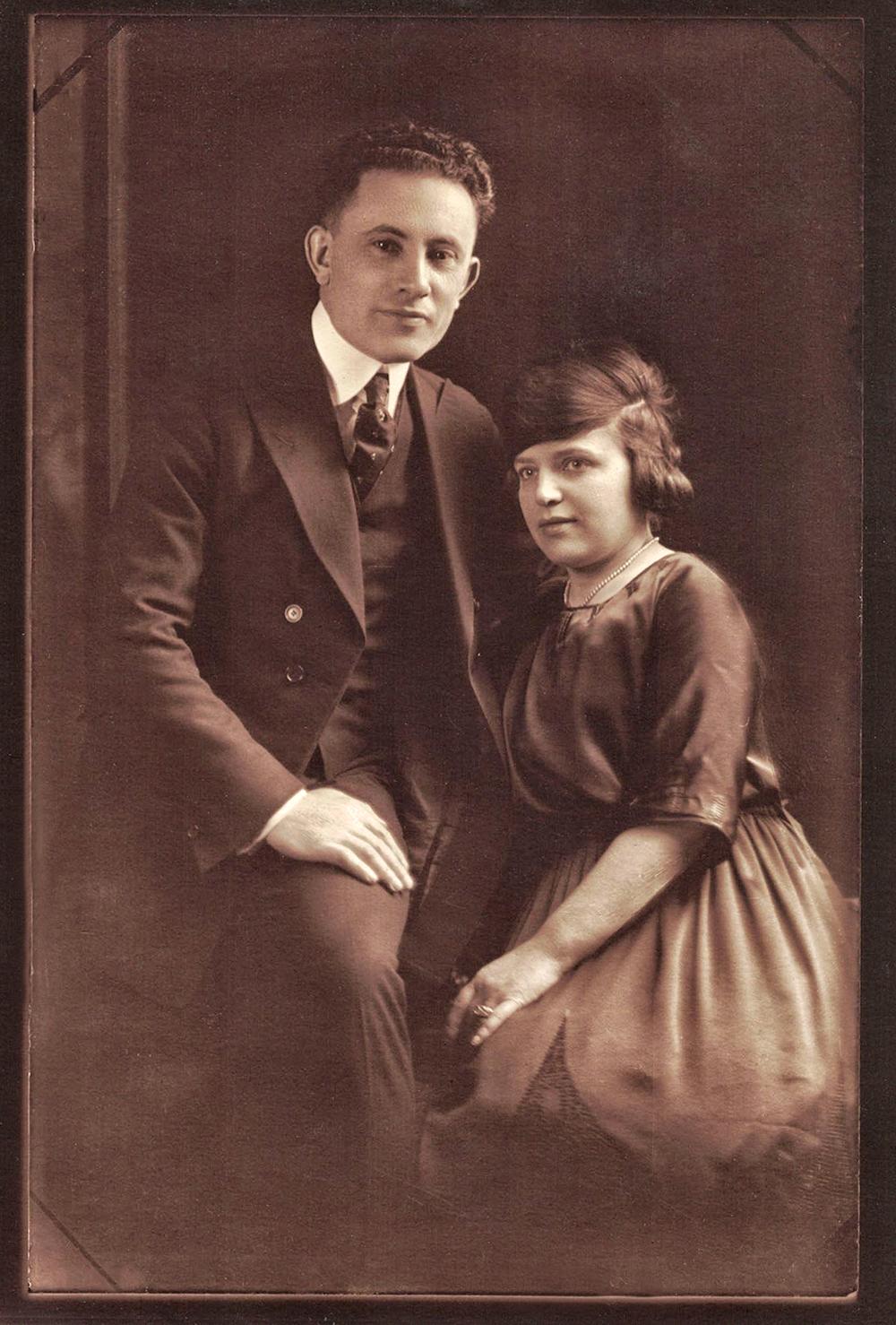 Celia Lazarus Guberman and Leo Guberman