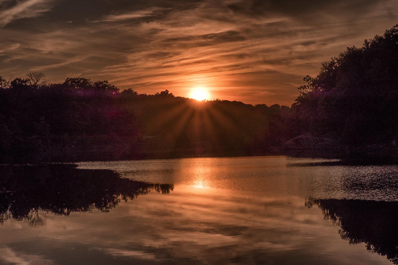 Anglers Sunset