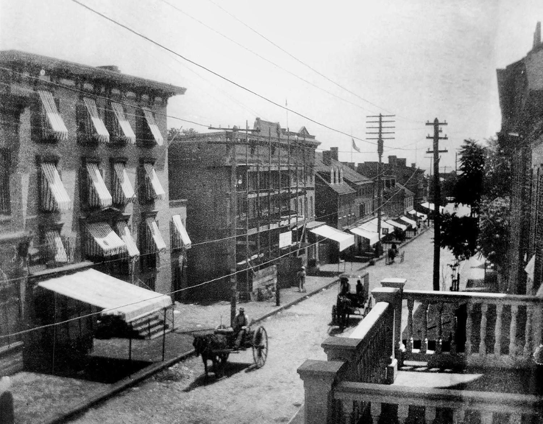 Gottlieb's Department Store Under Construction