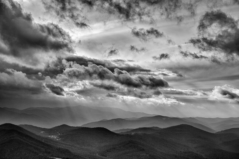 Blue Ridge, Winter Storm