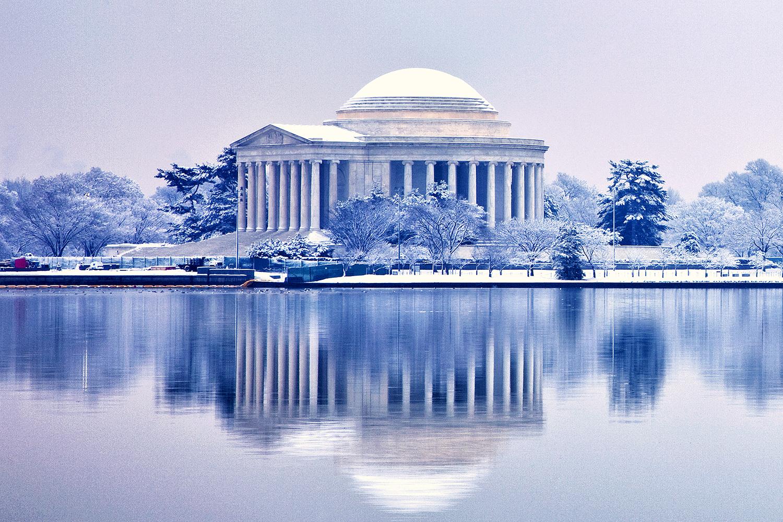 Jefferson Memorial, February Morning