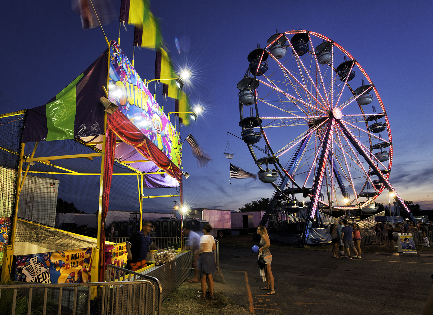 Montgomery Fair, August Evening