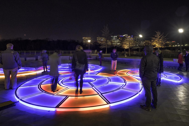 Georgetown Glow, December Evening