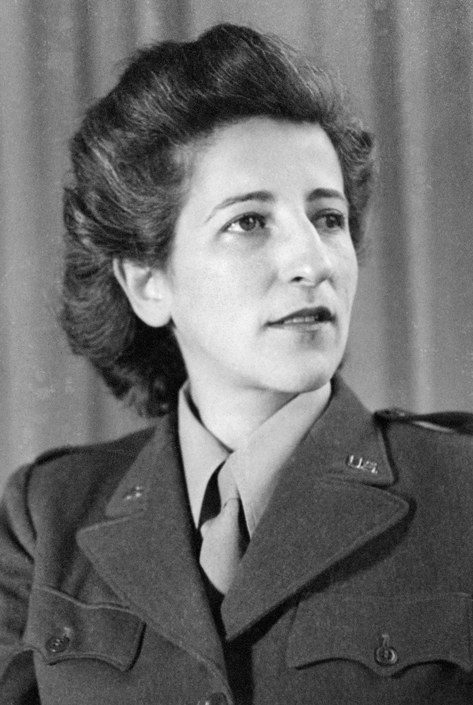 Esther Schwartzstein during WWII