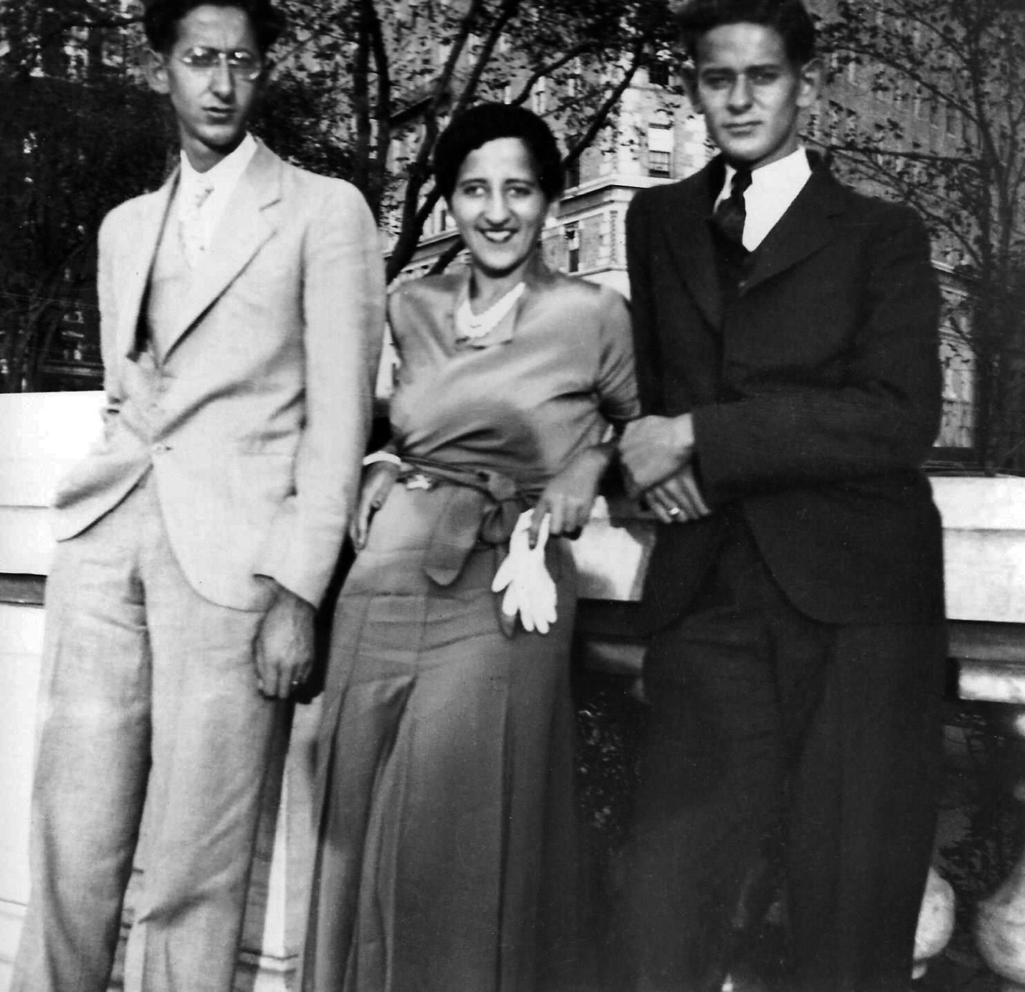 Ruby, Esther and Fred Schwartzstein