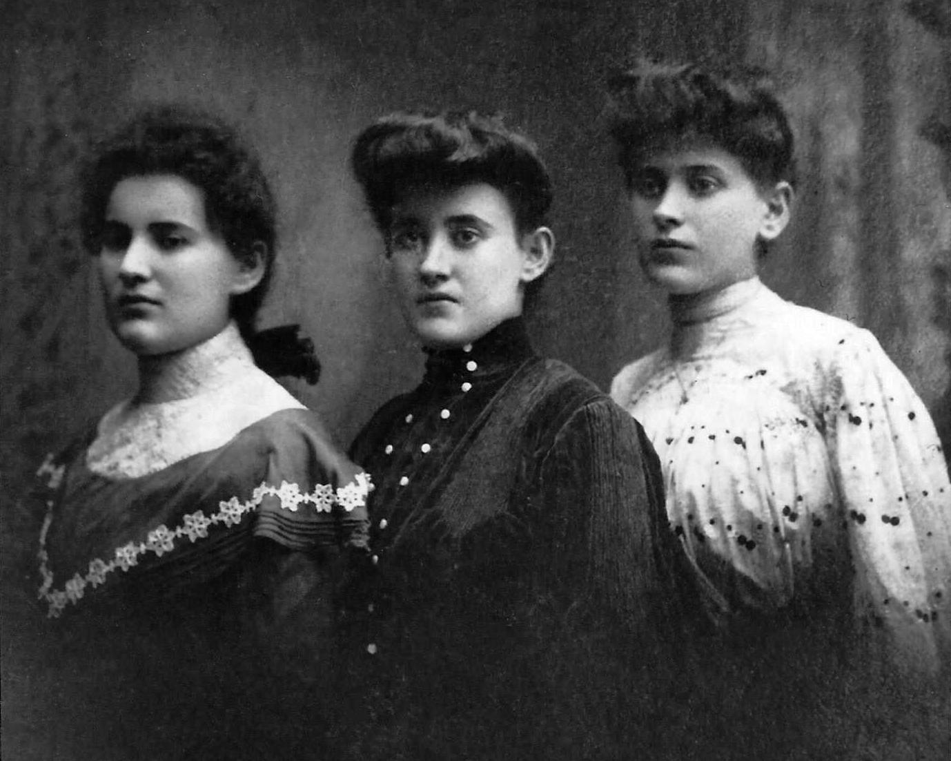 Clara, Bessie and Rebecca Schwartzstein