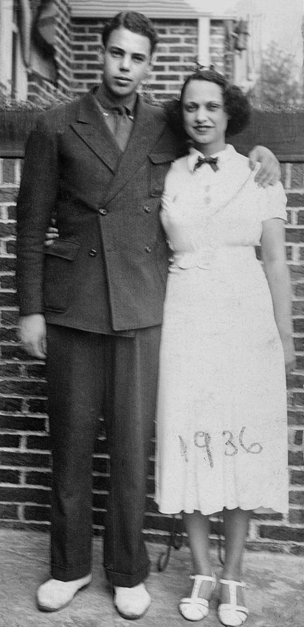 Doug and Kathryn, 1936
