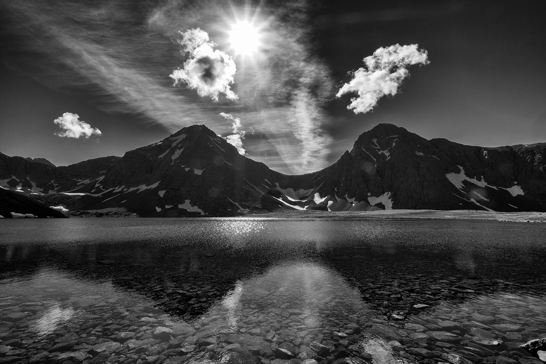 Rabbit Lake, Anchorage, AK, July Afternoon