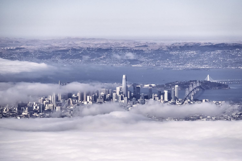 San Francisco, from the Flight to Alaska