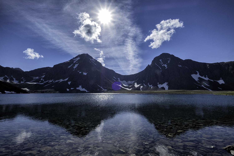 Rabbit Lake, Anchorage, Alaska, July Afternoon