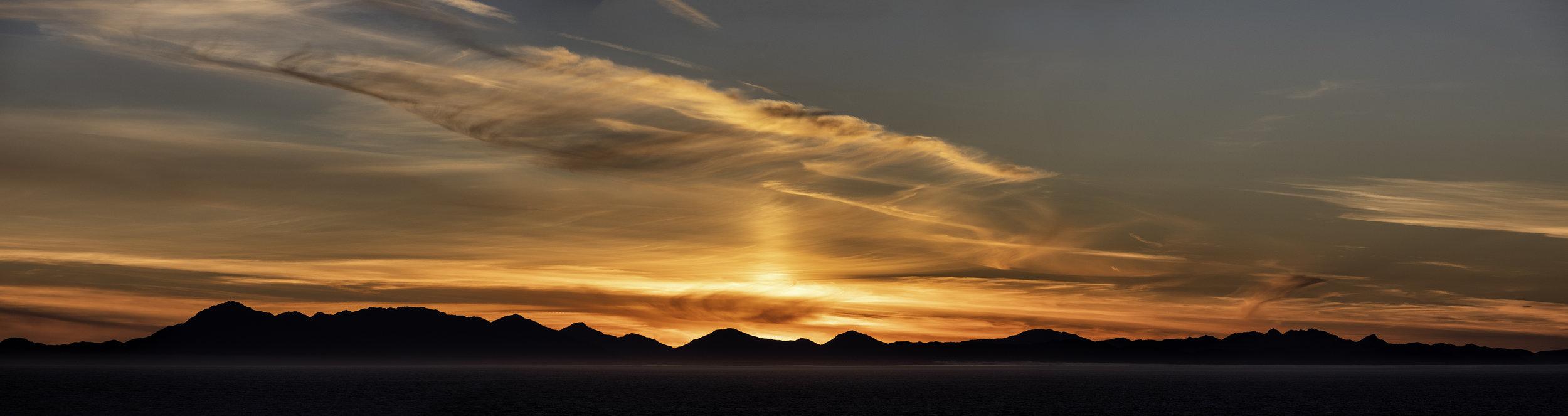 Inside Passage Sunset