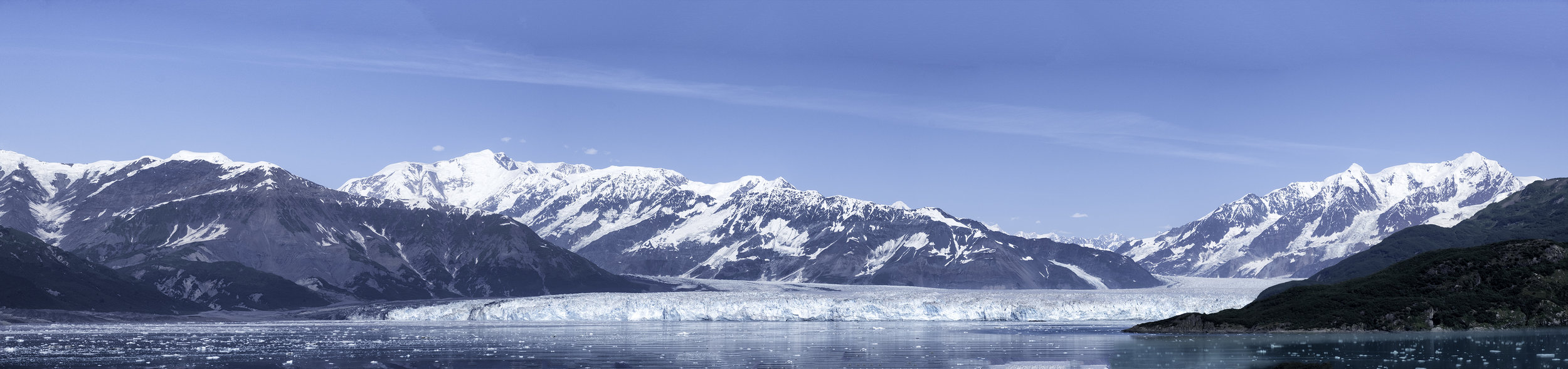Hubbard Glacier, July Afternoon