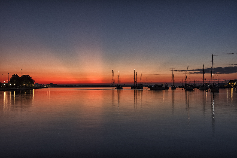 Annapolis Harbor, September Morning