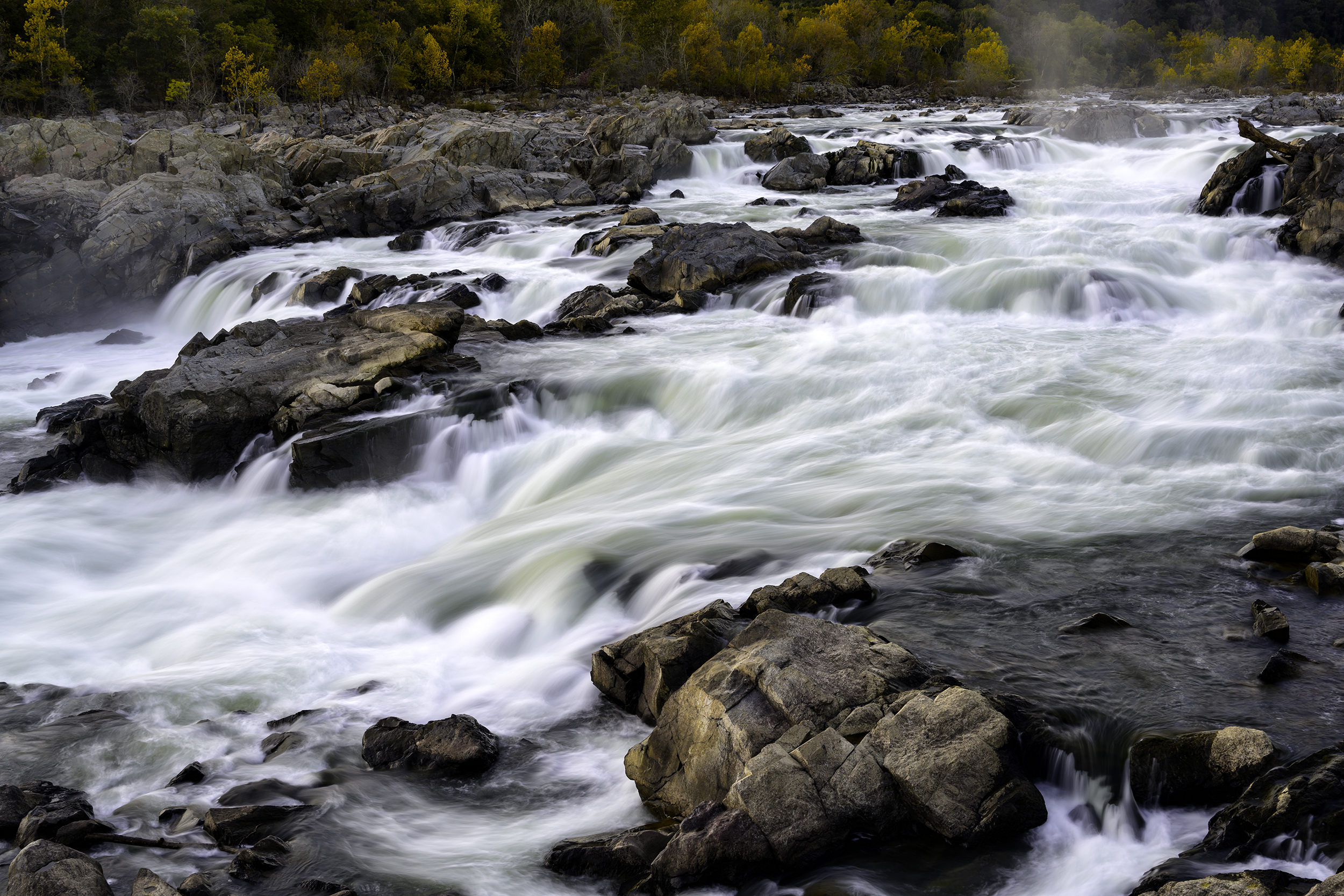 Great Falls, October Evening