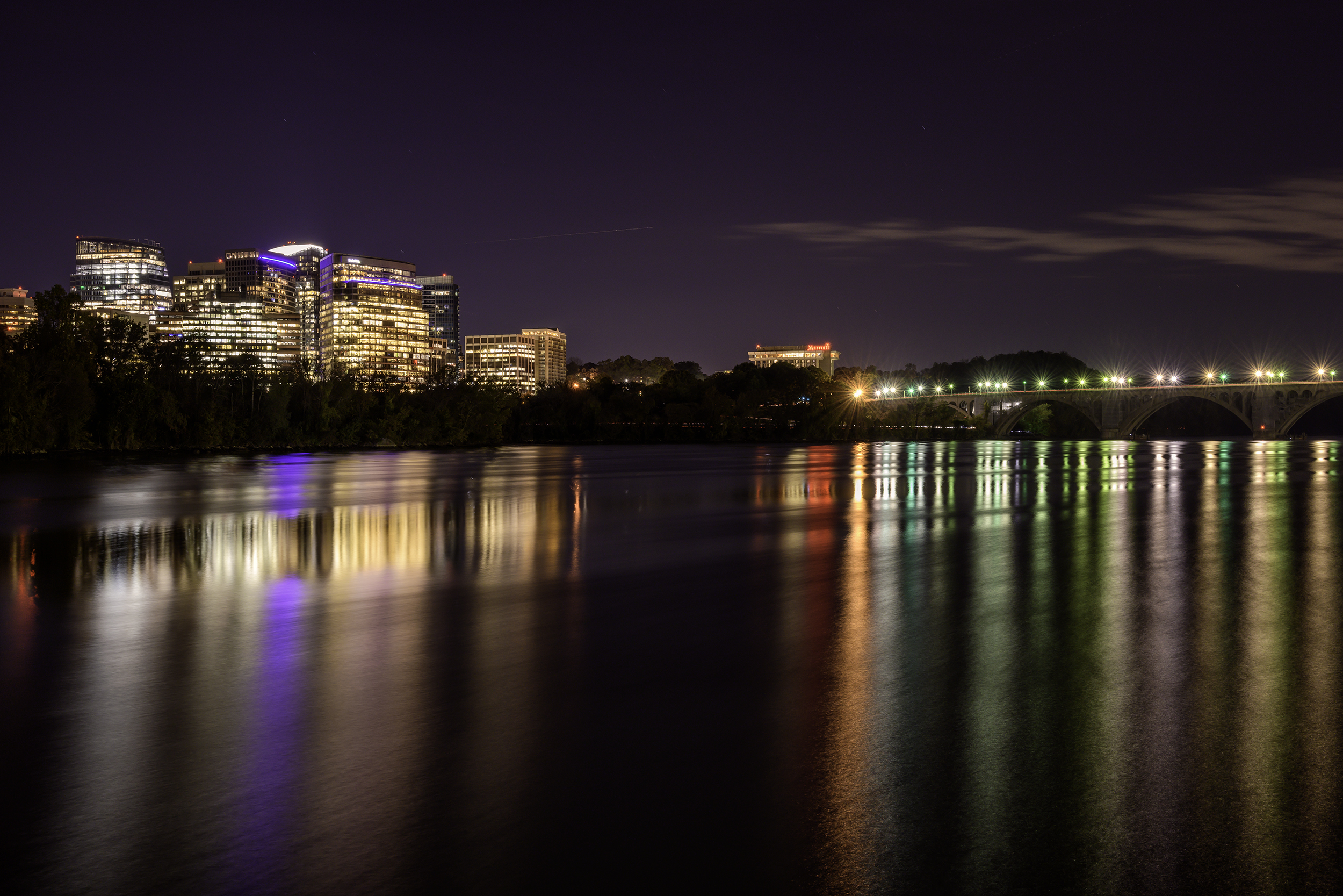 Rosslyn VA, October Evening