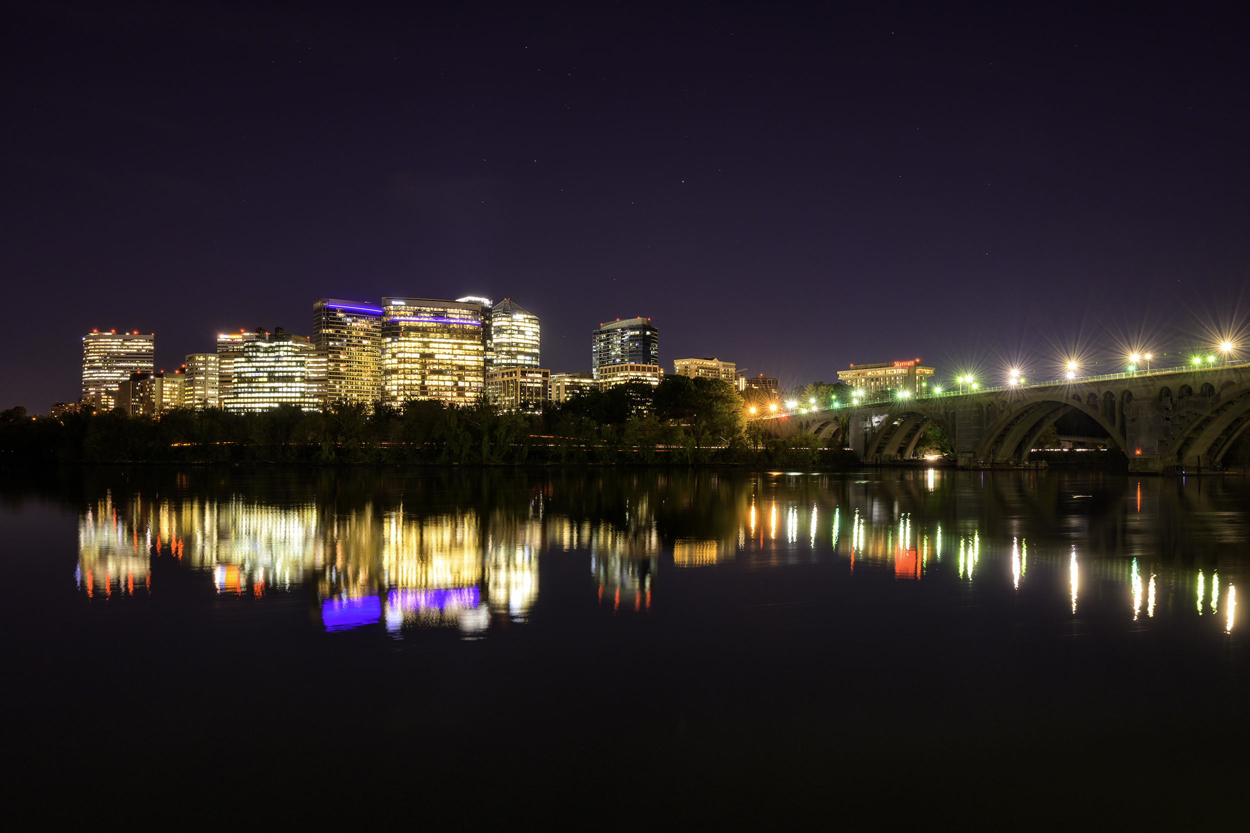 Rosslyn, October Evening