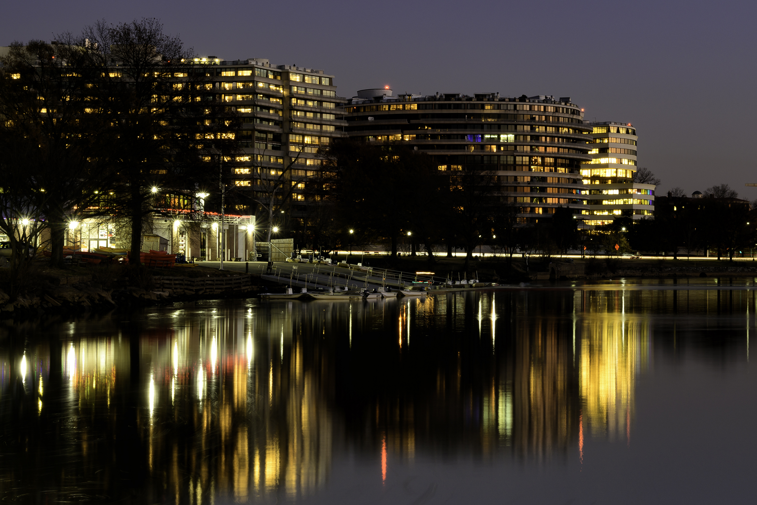 The Watergate, December Evening