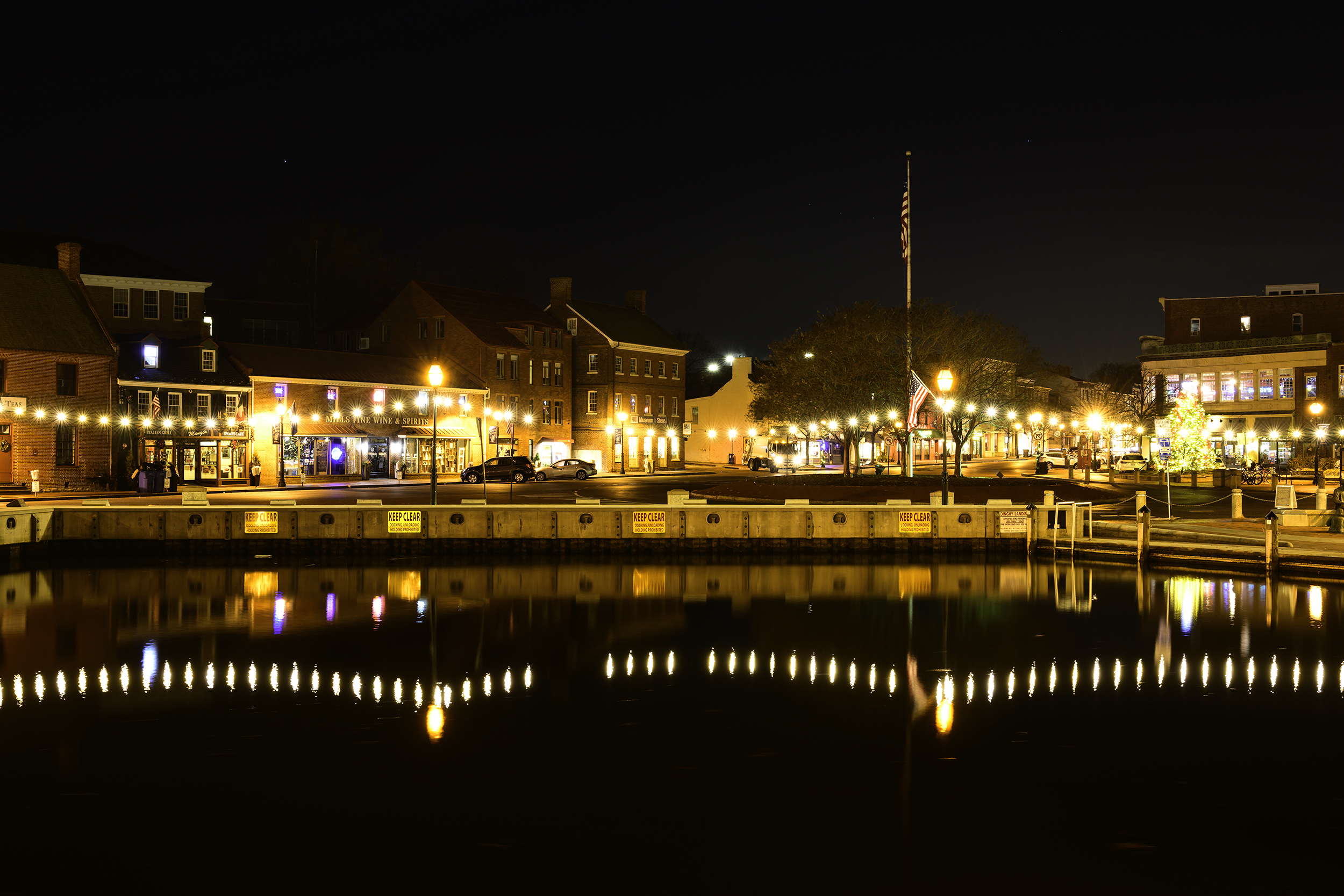 Annapolis Harbor, December Morning