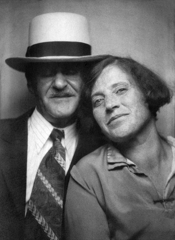 Max and Rebecca Schwartzstein, 1929