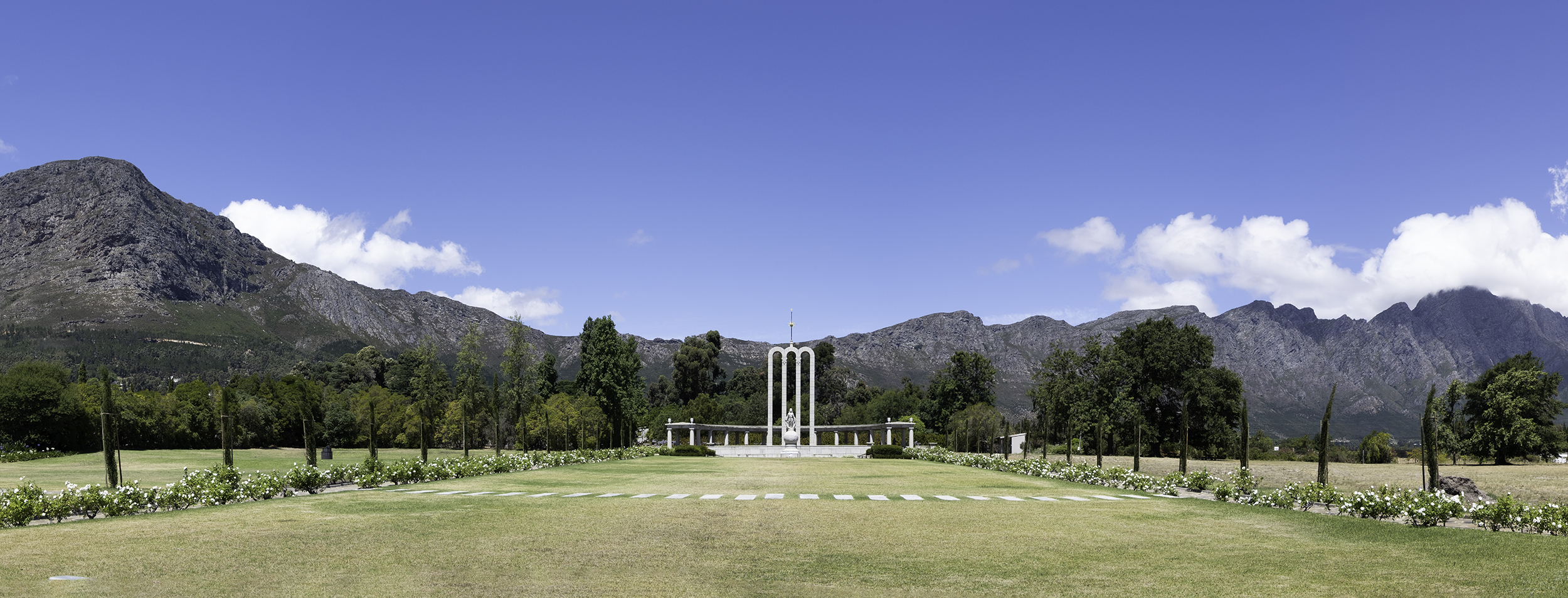 Huguenot Memorial, Franchhoek, SA, February Afternoon