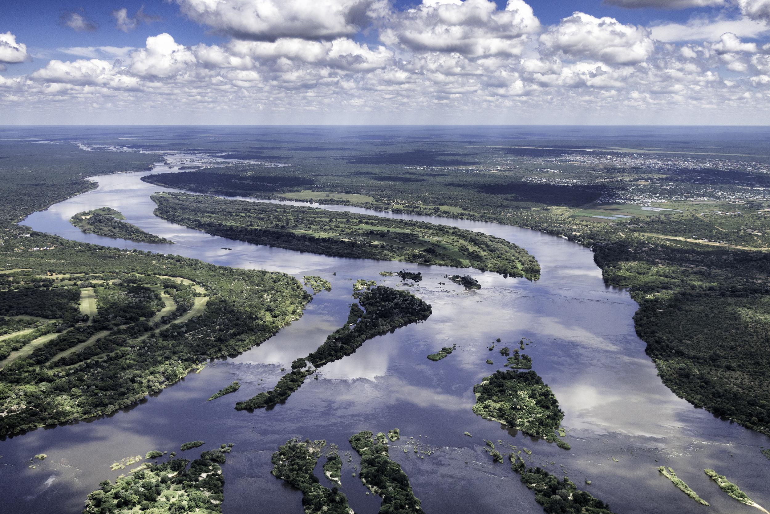 Zambezi River, Zimbabwe and Zambia, February Morning