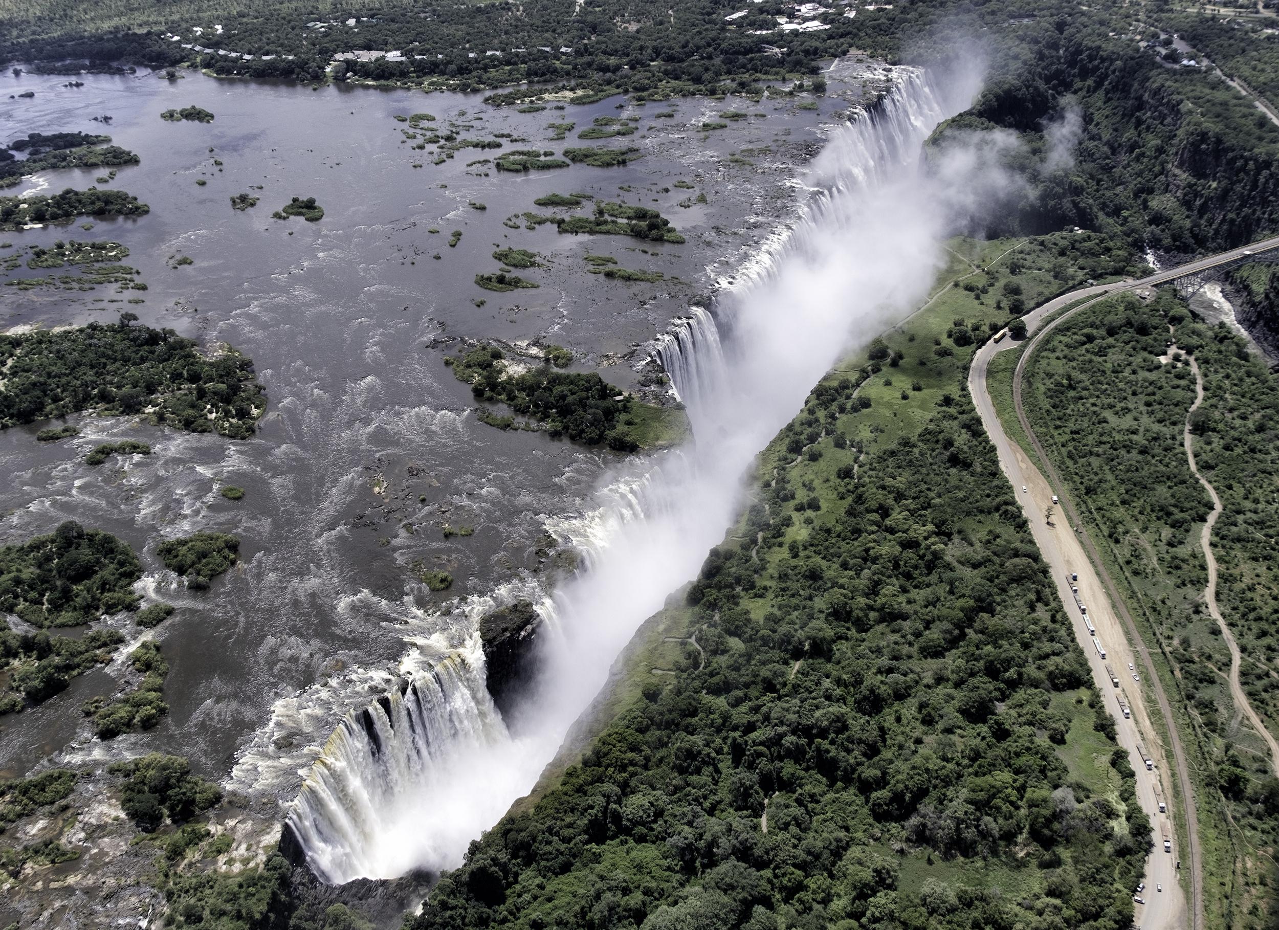 Victoria Falls, Zimbabwe and Zambia, February Morning
