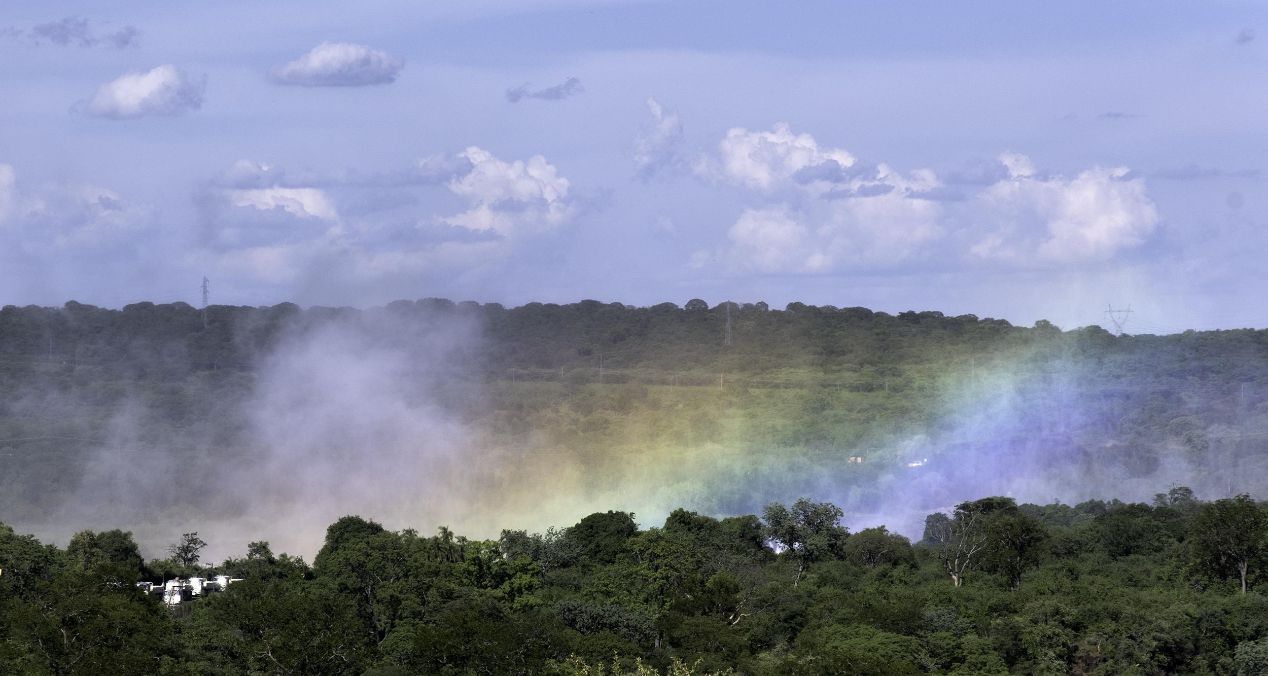 Victoria Falls Rainbow, February Afternoon