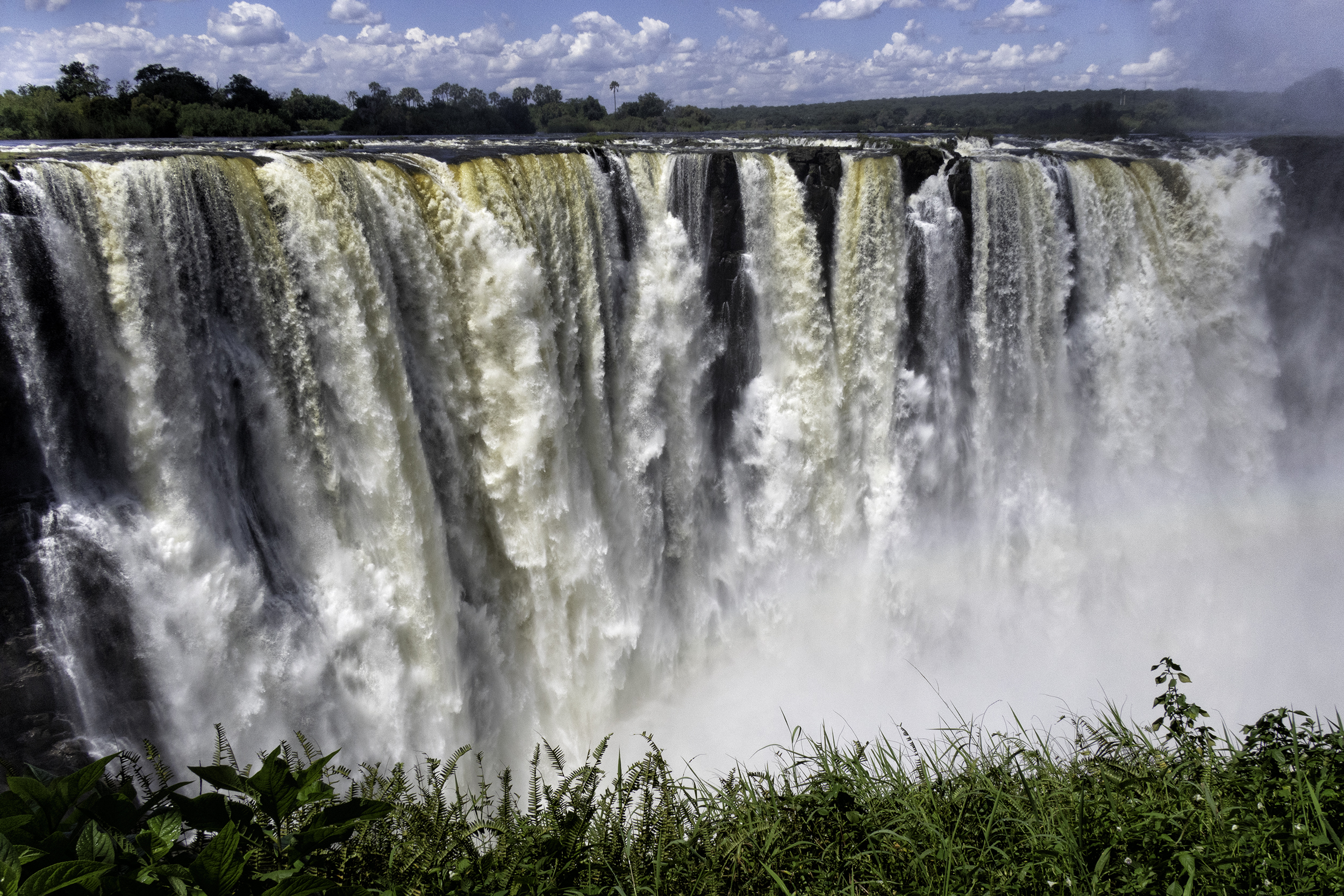 Victoria Falls, February Afternoon